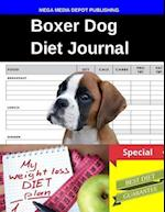 Boxer Dog Diet Journal