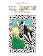 Wild Savannah Colouring Book
