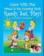 Color with Me! Friend & Me Coloring Book