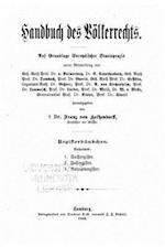 Handbuch Des Volkerrechts af Franz Von Holtzendorff