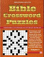 Bible Crossword Puzzles Volume 4
