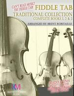 Fiddle Tab - Traditional Collection Complete Books 1, 2 & 3 af Brent C. Robitaille