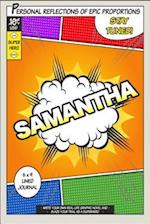 Superhero Samantha af One Jacked Monkey Publications