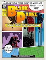 Blank Panel Comic Book for Sketching