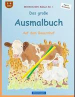 Brockhausen Malbuch Bd. 1 - Das Grosse Ausmalbuch