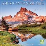 American Landscapes 2018 Wall Calendar