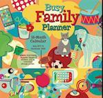 Busy Family Planner 2018 Calendar