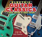 Electric Guitar Classics 2018 Calendar