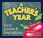 Teacher's Year 2018 Daily Calendar