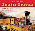 Year of Train Trivia 2018 Daily Calendar