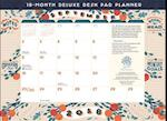 18-Month Deluxe Desk Pad Planner 2018