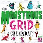 The Monstrous Grid 2019 Calendar