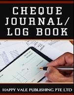 Cheque Journal / Log Book