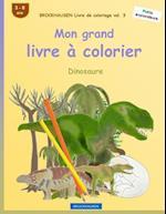 Brockhausen Livre de Coloriage Vol. 3 - Mon Grand Livre a Colorier