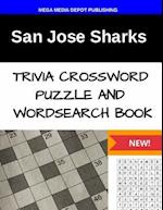 San Jose Sharks Trivia Crossword Puzzle and Word Search Book