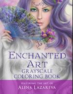 Enchanted Art Grayscale Coloring Book af Cheryl Casey, Wingfeather Coloring Books