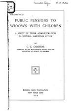 Public Pensions to Widows with Children af C. C. Carstens