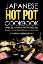 Japanese Hot Pot Cookbook - Over 25 Japanese Hot Pot Recipes af Martha Stephenson
