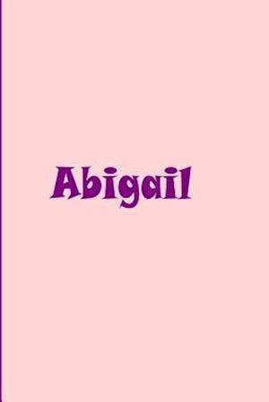 Bog, paperback Abigail- Personalized Journal af Ethi Pike