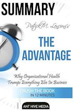 Patrick M. Lencioni's the Advantage