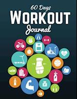 60 Days Workout Journal