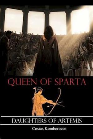 Bog, paperback Queen of Sparta af Costas Komborozos
