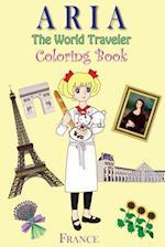 Aria the World Traveler Coloring Book