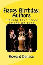 Happy Birthday, Authors