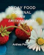 30 Day Food Journal for Emotional Eaters af Anthea Peries