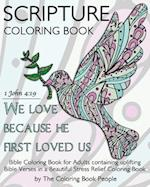 Scripture Coloring Book af The Coloring Book People