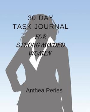 30 Day Task Journal for Strong-Minded Women