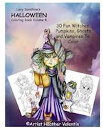Lacy Sunshine's Halloween Coloring Book Volume 4 af Heather Valentin