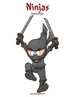 Ninjas Coloring Book 1