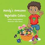 Mandy's Awesome Vegetable Colors af Mandy Maphosa