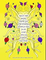 Yoga for Sindet Malebog Healing Aura Find Afslapning Gennem Sjov Kunst for Alle Overalt Enhver Tid AF Kunstner Grace Divine af Grace Divine