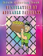 Adult Coloring Book Compilation of Adorable Patterns af Elizabeth Hayes