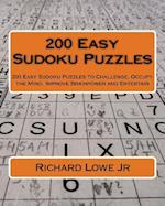 200 Easy Sudoku Puzzles af Richard G. Lowe Jr