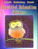 Adult Coloring Book Beautiful Relaxation Patterns