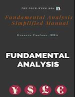 Fundamental Analysis - Simplified Manual