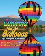 Coloring Hot Air Balloons af Christopher R. Anderson