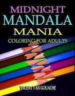 Midnight Mandala Mania af Vincent Van Gouache