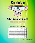 Sudoku Scientist Winners Series - Sudoku Puzzle Books for the More Experienced Hard Edition - Puzzle Books for Friends & Family Fun - Sudoku Puzzle Bo