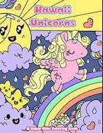 Kawaii Unicorns af Mindful Coloring Books