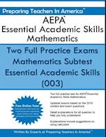 Aepa Essential Academic Skills Mathematics