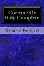 Corinne or Italy Complete