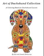 Art of Dachshund Coloring Book af Ed Delacruz, Jamie Delacruz
