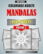 Coloriage Adulte Mandalas Anti-Stress Volume 2 af Remy Roulier