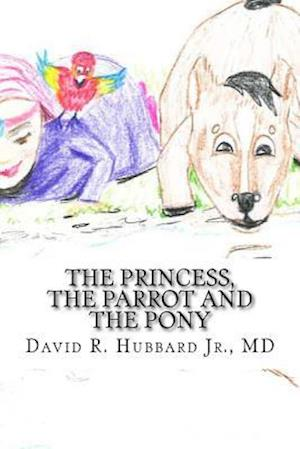 Bog, paperback The Princess, the Parrot and the Pony af Dr David Richardson Hubbard Jr