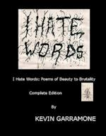 I Hate Words af Kevin Garramone