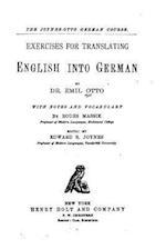 Exercises for Translating English Into German
